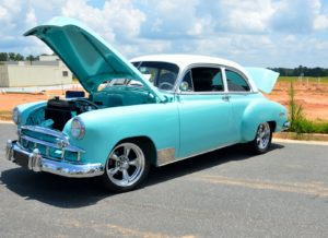 6th Ever Texas Music Revival and Classics on the Square Car Show