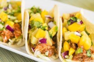 Chicken Tacos Recipe with Mango Avocado
